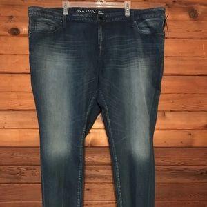 Denim - Ava & Viv Size 24 Jeans
